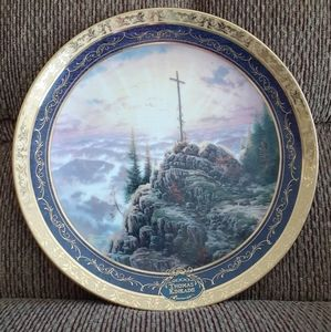 Sunrise - Thomas Kinkade plate